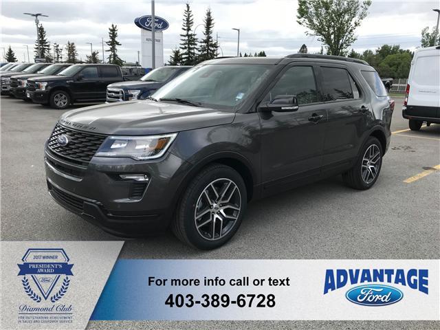 2018 Ford Explorer Sport (Stk: J-1002) in Calgary - Image 1 of 5
