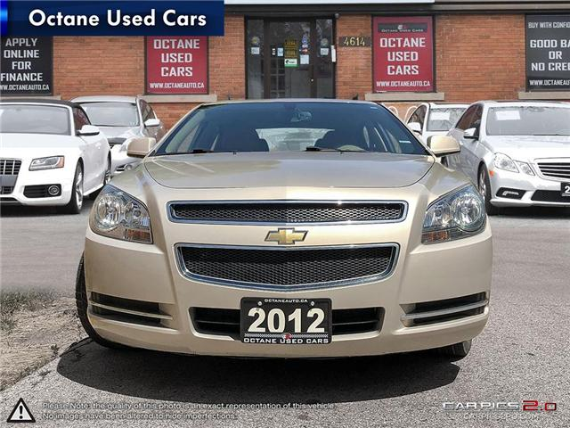 2012 Chevrolet Malibu LT Platinum Edition (Stk: ) in Scarborough - Image 2 of 22