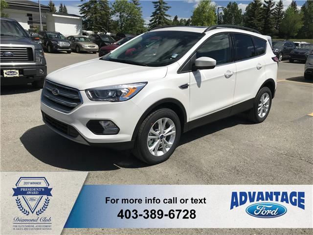 2018 Ford Escape SEL (Stk: J-796) in Calgary - Image 1 of 5