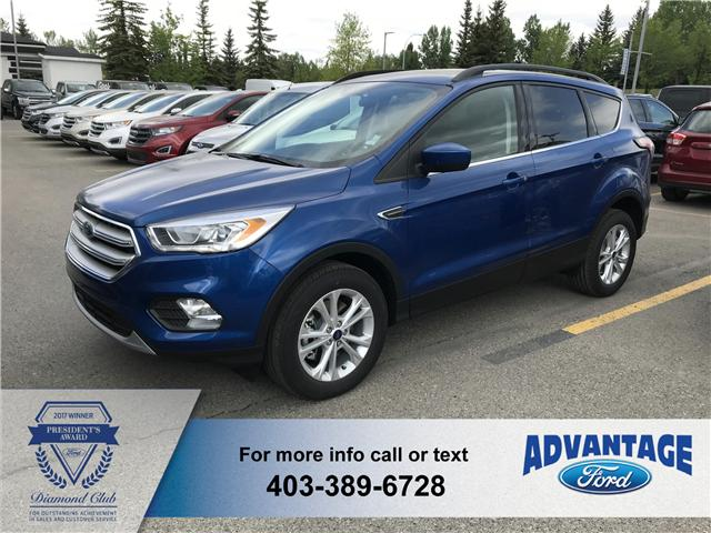 2018 Ford Escape SEL (Stk: J-836) in Calgary - Image 1 of 5
