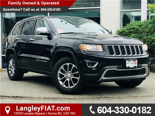 2016 Jeep Grand Cherokee Limited (Stk: EE889950) in Surrey - Image 1 of 30
