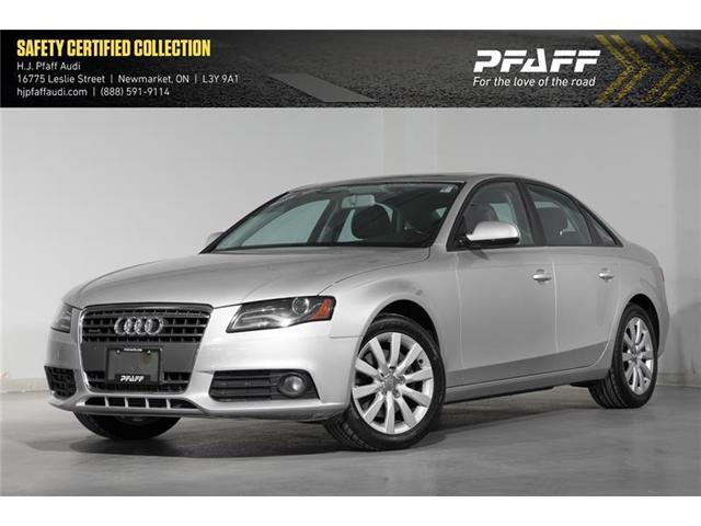 2012 Audi A4 2.0T (Stk: A9935A) in Newmarket - Image 1 of 16