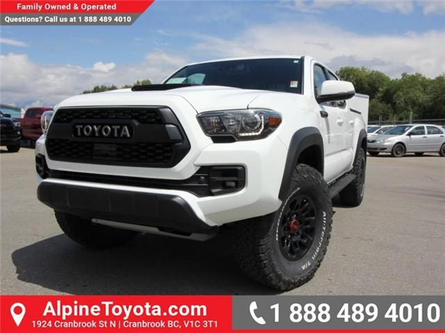 2018 Toyota Tacoma  (Stk: X133015) in Cranbrook - Image 1 of 23