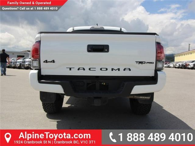 2018 Toyota Tacoma  (Stk: X133015) in Cranbrook - Image 4 of 23