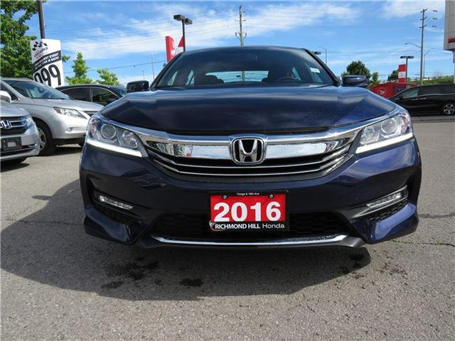 2016 Honda Accord Sport (Stk: 1981P) in Richmond Hill - Image 2 of 15
