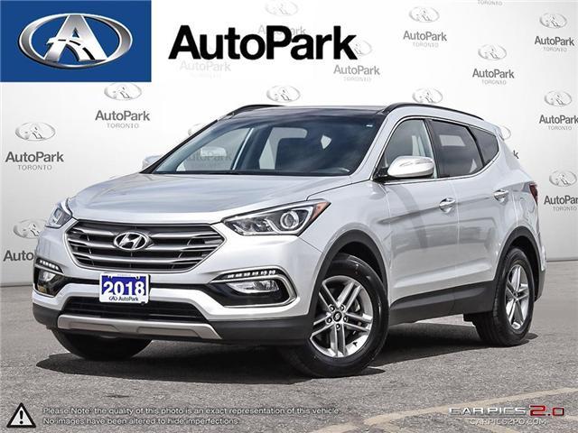 2018 Hyundai Santa Fe Sport 2.4 Premium (Stk: 18-15801SR) in Toronto - Image 1 of 27