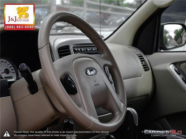2007 Ford Escape XLT (Stk: J18033-1) in Brandon - Image 13 of 27
