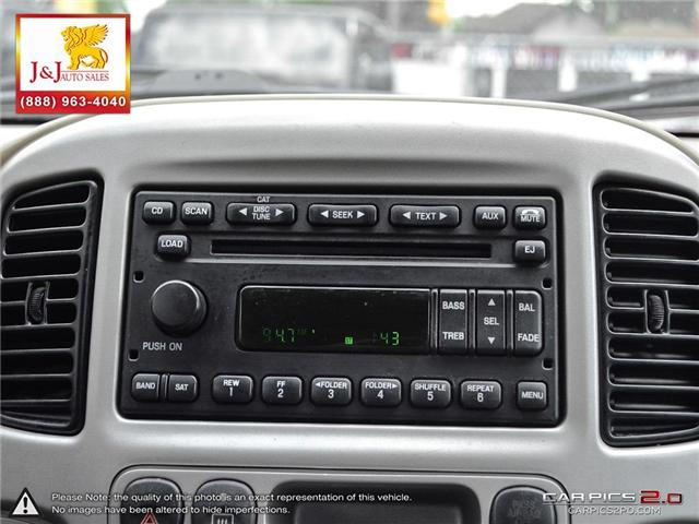 2007 Ford Escape XLT (Stk: J18033-1) in Brandon - Image 21 of 27