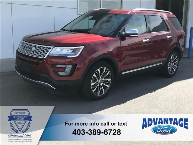 2016 Ford Explorer Platinum (Stk: J-845A) in Calgary - Image 1 of 14