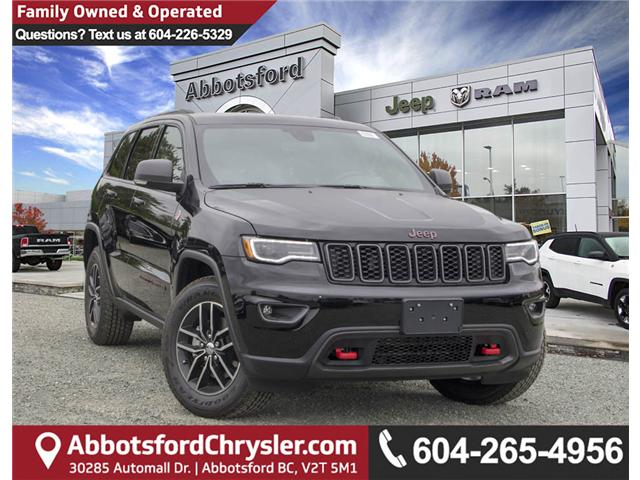 2018 Jeep Grand Cherokee Trailhawk (Stk: J396494) in Abbotsford - Image 1 of 26