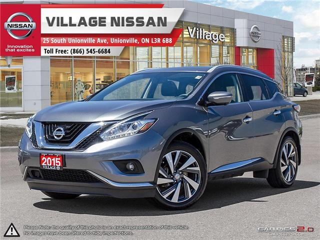 2015 Nissan Murano Platinum (Stk: 80315A) in Unionville - Image 1 of 27
