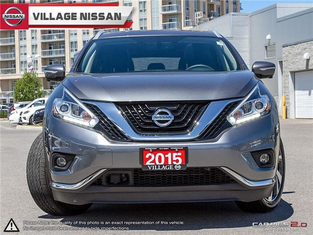 2015 Nissan Murano Platinum (Stk: 80315A) in Unionville - Image 2 of 27