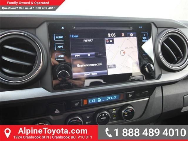 2018 Toyota Tacoma SR5 (Stk: X035163) in Cranbrook - Image 11 of 17
