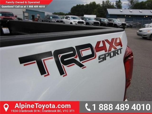 2018 Toyota Tacoma SR5 (Stk: X035163) in Cranbrook - Image 16 of 17