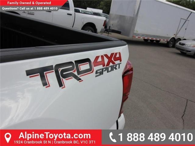 2018 Toyota Tacoma SR5 (Stk: X035133) in Cranbrook - Image 16 of 17