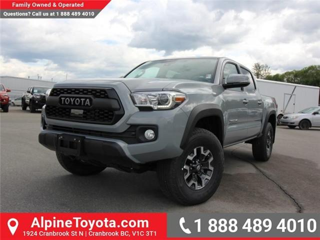 2018 Toyota Tacoma TRD Off Road (Stk: X146201) in Cranbrook - Image 1 of 18