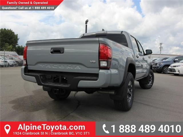 2018 Toyota Tacoma TRD Off Road (Stk: X146201) in Cranbrook - Image 5 of 18