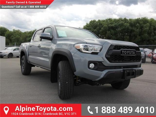 2018 Toyota Tacoma TRD Off Road (Stk: X146201) in Cranbrook - Image 7 of 18