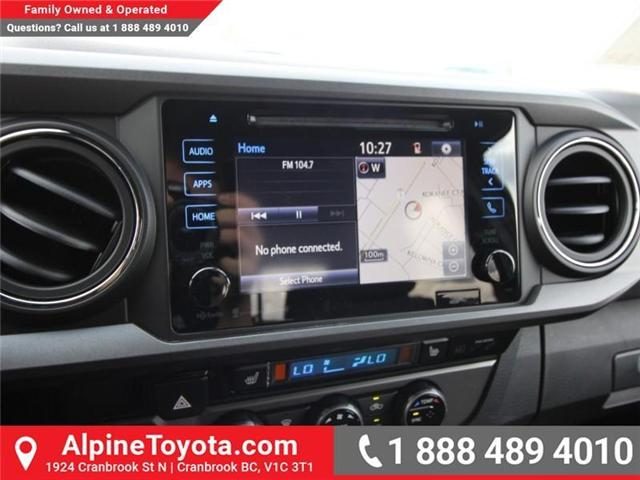 2018 Toyota Tacoma TRD Off Road (Stk: X146201) in Cranbrook - Image 13 of 18