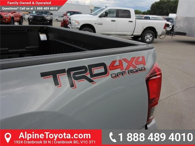 2018 Toyota Tacoma TRD Off Road (Stk: X146201) in Cranbrook - Image 17 of 18