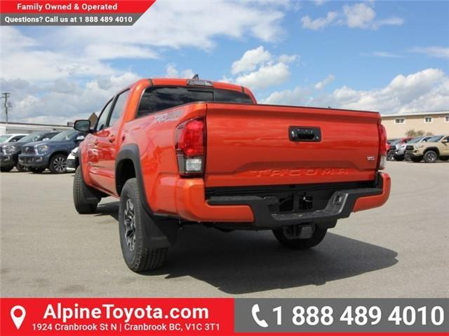 2018 Toyota Tacoma TRD Off Road (Stk: X146918) in Cranbrook - Image 3 of 18
