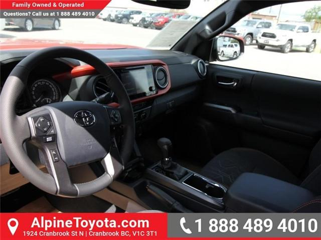 2018 Toyota Tacoma TRD Off Road (Stk: X146918) in Cranbrook - Image 9 of 18