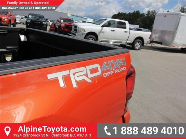 2018 Toyota Tacoma TRD Off Road (Stk: X146918) in Cranbrook - Image 17 of 18