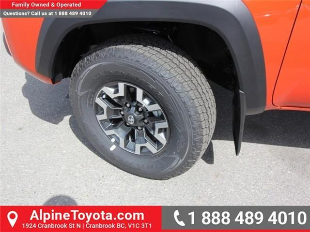 2018 Toyota Tacoma TRD Off Road (Stk: X146918) in Cranbrook - Image 18 of 18