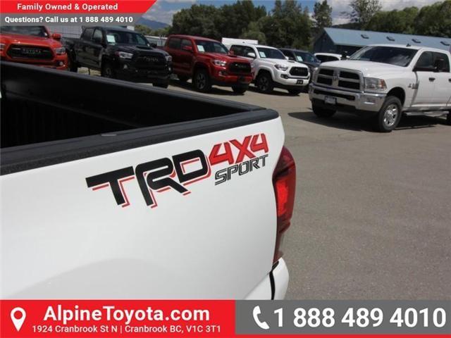 2018 Toyota Tacoma SR5 (Stk: X035825) in Cranbrook - Image 18 of 19
