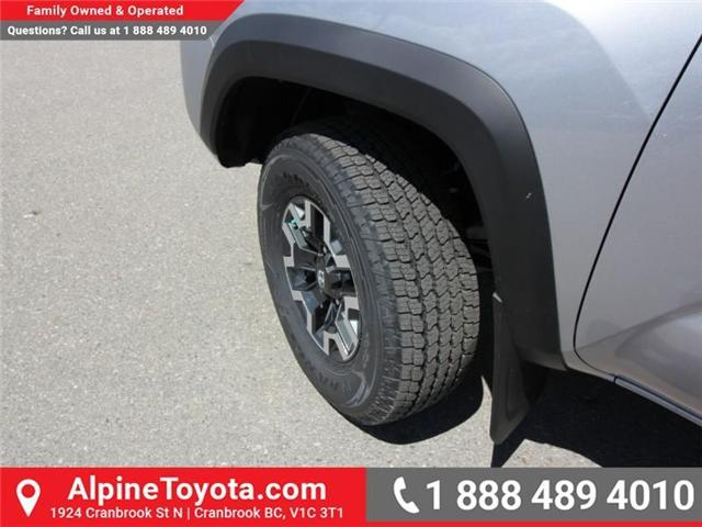 2018 Toyota Tacoma TRD Off Road (Stk: X149449) in Cranbrook - Image 16 of 16