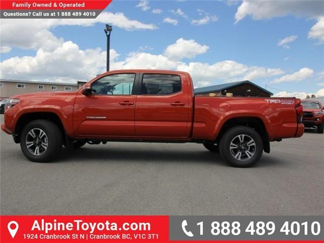 2018 Toyota Tacoma SR5 (Stk: X035977) in Cranbrook - Image 2 of 16