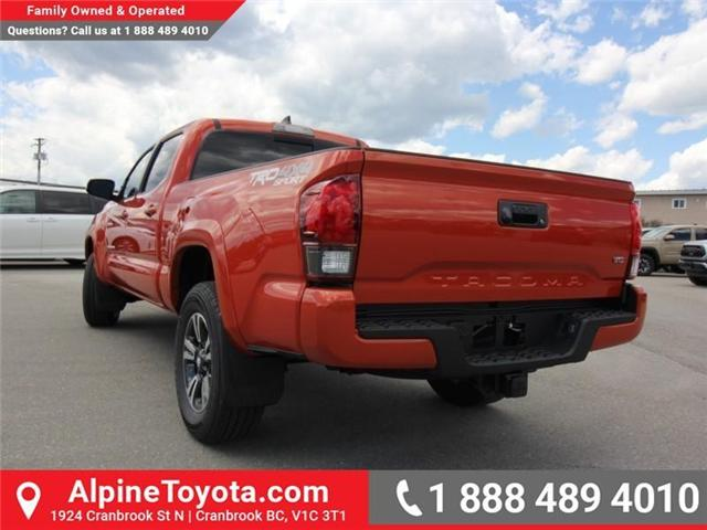 2018 Toyota Tacoma SR5 (Stk: X035977) in Cranbrook - Image 3 of 16