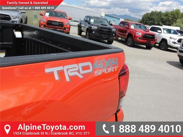 2018 Toyota Tacoma SR5 (Stk: X035977) in Cranbrook - Image 15 of 16