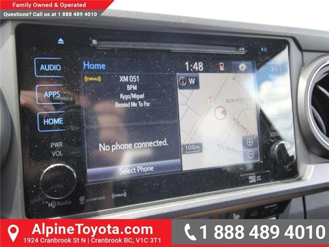 2018 Toyota Tacoma SR5 (Stk: X035981) in Cranbrook - Image 13 of 17