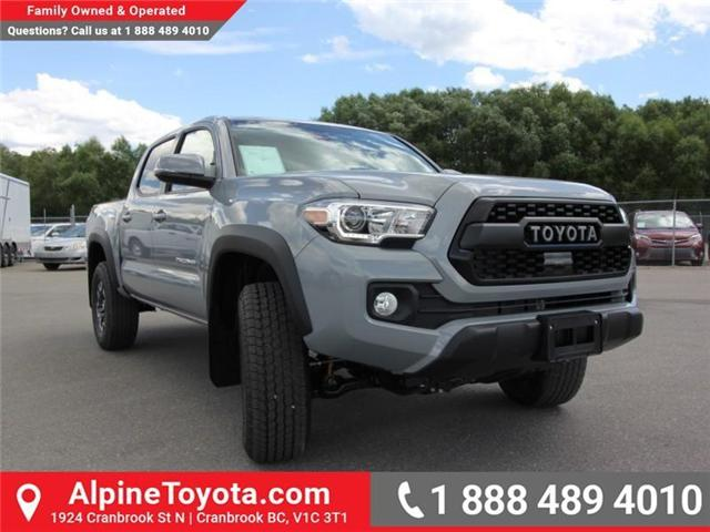 2018 Toyota Tacoma TRD Off Road (Stk: X149441) in Cranbrook - Image 6 of 17