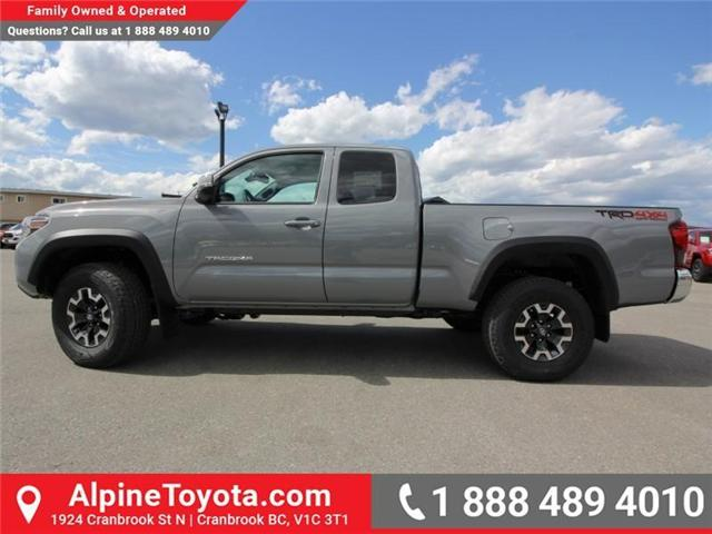 2018 Toyota Tacoma TRD Off Road (Stk: X150406) in Cranbrook - Image 2 of 19