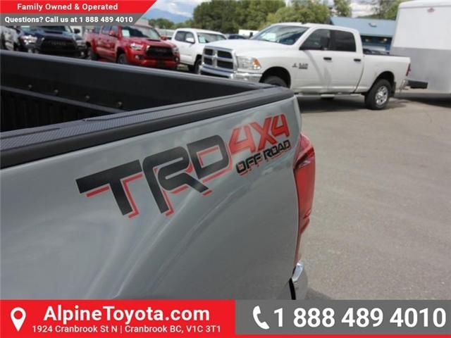 2018 Toyota Tacoma TRD Off Road (Stk: X150406) in Cranbrook - Image 18 of 19