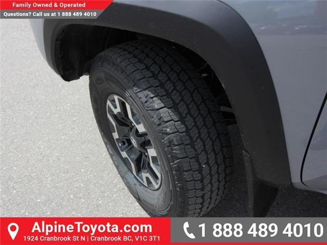 2018 Toyota Tacoma TRD Off Road (Stk: X150406) in Cranbrook - Image 19 of 19