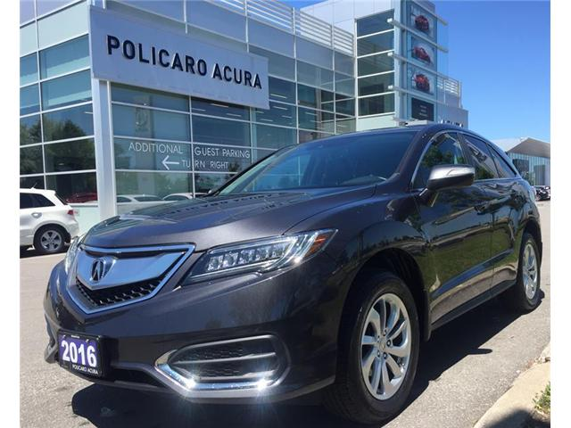 2016 Acura RDX Base (Stk: 804029T) in Brampton - Image 1 of 3