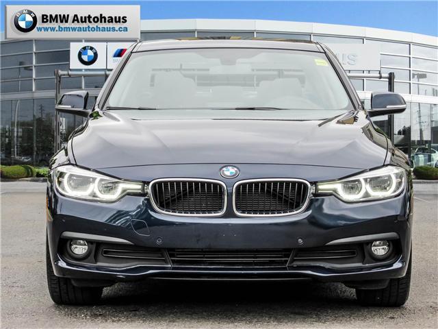 2017 BMW 320i xDrive Sedan (8E57) (Stk: N18437A) in Thornhill - Image 2 of 27