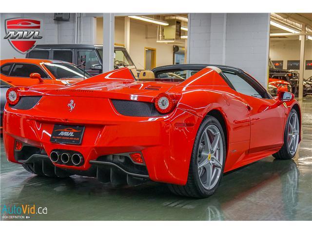 2013 Ferrari 458 SPIDER  (Stk: ) in Oakville - Image 8 of 49