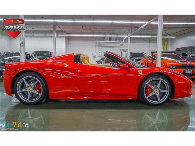 2013 Ferrari 458 SPIDER  (Stk: ) in Oakville - Image 9 of 49