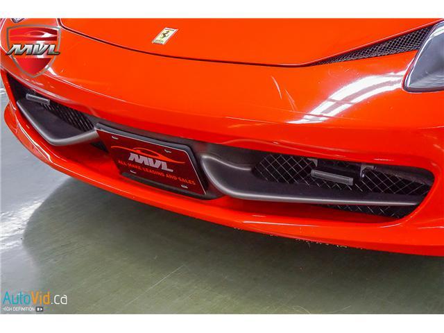 2013 Ferrari 458 SPIDER  (Stk: ) in Oakville - Image 16 of 49