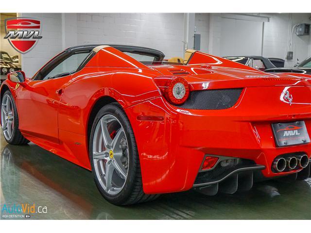 2013 Ferrari 458 SPIDER  (Stk: ) in Oakville - Image 13 of 49