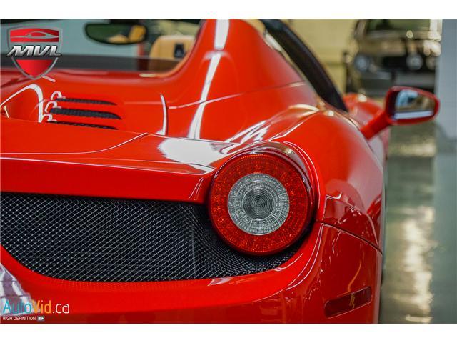 2013 Ferrari 458 SPIDER  (Stk: ) in Oakville - Image 14 of 49