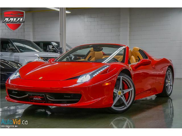 2013 Ferrari 458 SPIDER  (Stk: ) in Oakville - Image 2 of 49