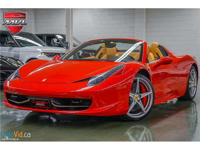 ... 2013 Ferrari 458 SPIDER (Stk: ) In Oakville   Image 1 Of 49 ...