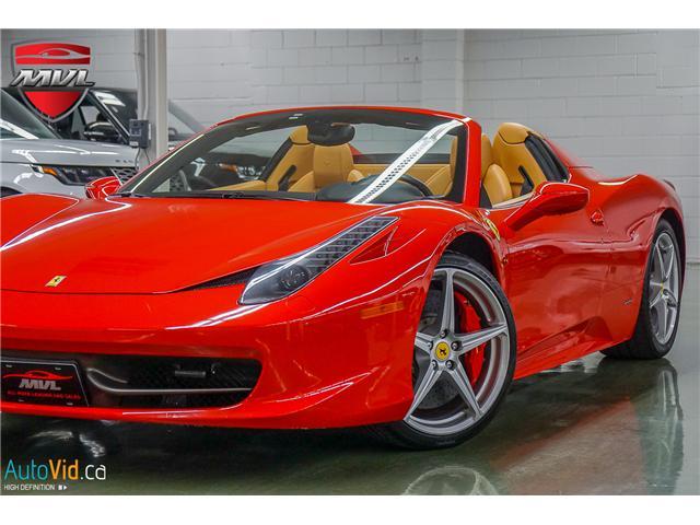 2013 Ferrari 458 SPIDER  (Stk: ) in Oakville - Image 3 of 49