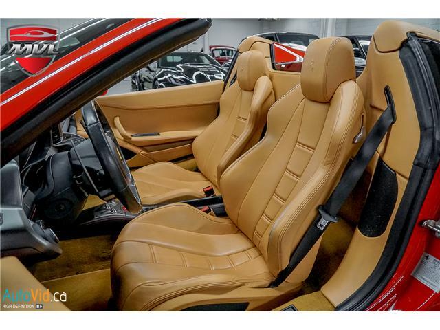 2013 Ferrari 458 SPIDER  (Stk: ) in Oakville - Image 37 of 49
