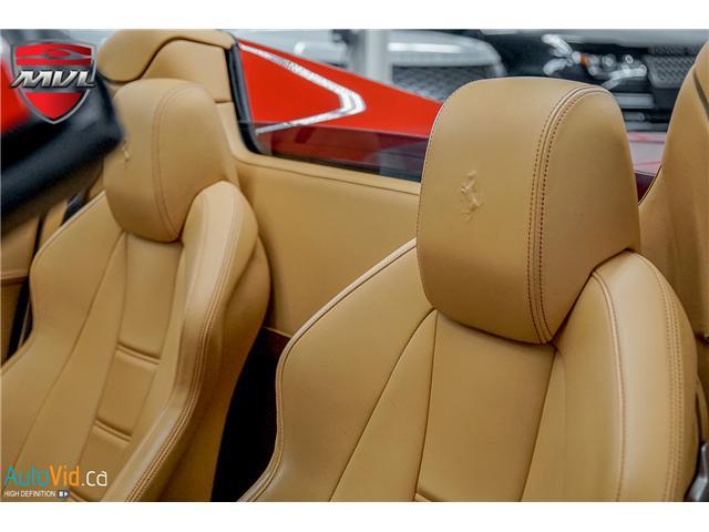2013 Ferrari 458 SPIDER  (Stk: ) in Oakville - Image 38 of 49